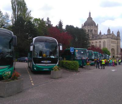 Les sept premiers bus