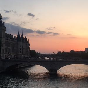 coucher de soleil paris pentecote 2018