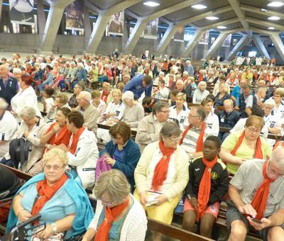 Lourdes2018-photos messe ouverture (9)