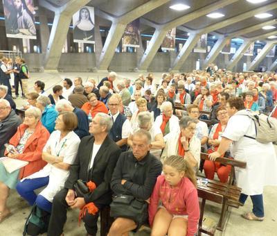 Lourdes2018-photos messe ouverture (10)