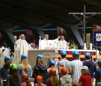 Lourdes2018-photos messe ouverture (38)