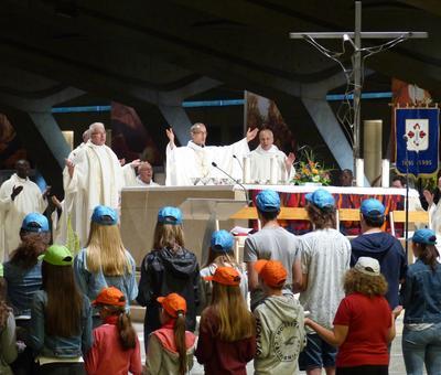 Lourdes2018-photos messe ouverture (39)