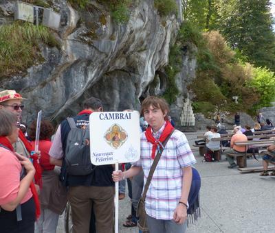 Lourdes2018-photos passage grotte (7)