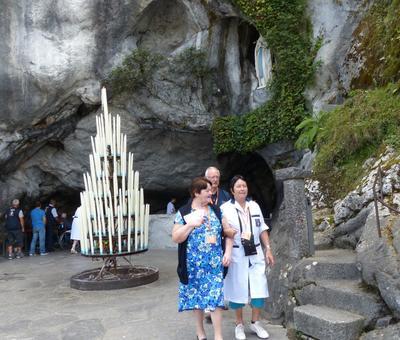 Lourdes2018-photos passage grotte (15)