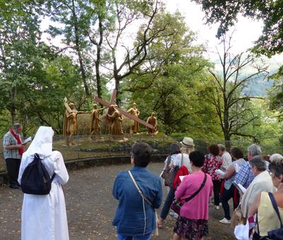 Lourdes2018-photos chemindecroix montagne (15)