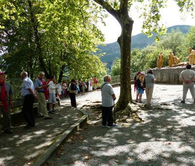 Lourdes2018-photos chemindecroix montagne (27)