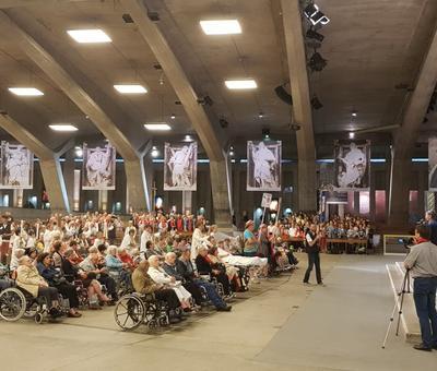 Lourdes2018-photos messe ouverture (15) 21