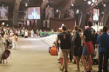 Lourdes2018-photos messe internat (0)