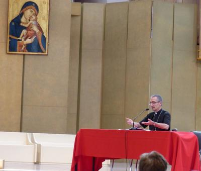 Lourdes2018-photos conference Mgr Dollmann (5)