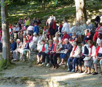 Lourdes-2018 - photos Cathedrale verdure (13)