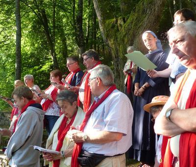 Lourdes-2018 - photos Cathedrale verdure (27)