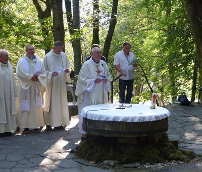 Lourdes-2018 - photos Cathedrale verdure (33)