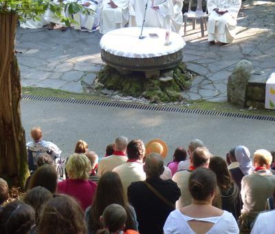 Lourdes-2018 - photos Cathedrale verdure (35)