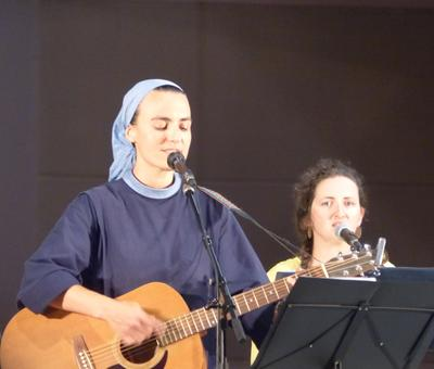 Lourdes 2018 - photos - Recital Soeur Agathe (8)
