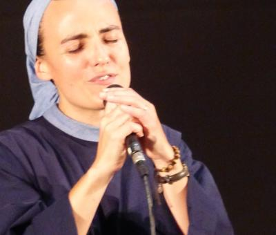 Lourdes 2018 - photos - Recital Soeur Agathe (18)