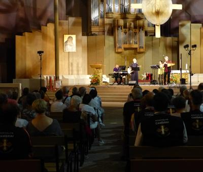 Lourdes 2018 - photos - Recital Soeur Agathe (28)
