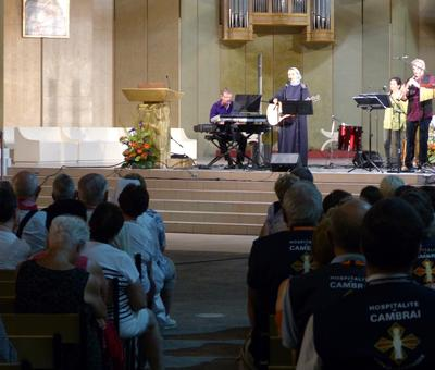 Lourdes 2018 - photos - Recital Soeur Agathe (29)