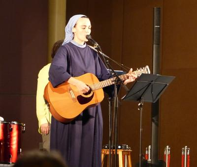 Lourdes 2018 - photos - Recital Soeur Agathe (31)