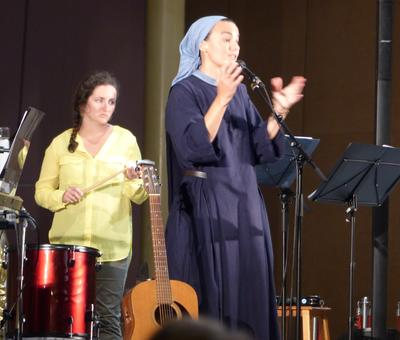 Lourdes 2018 - photos - Recital Soeur Agathe (34)
