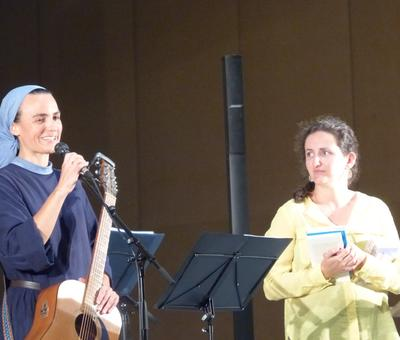 Lourdes 2018 - photos - Recital Soeur Agathe (48)