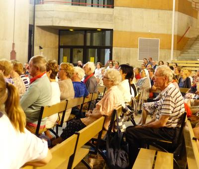 Lourdes 2018 - photos - Recital Soeur Agathe (49)