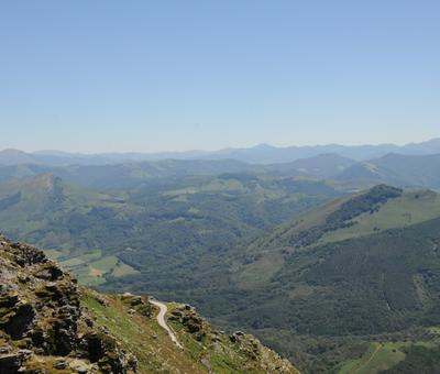 pyrenees vue Rhune