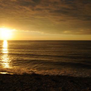 coucher soleil océan