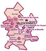 Carte doyenné Valenciennes