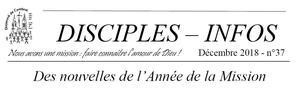 Disciples infos 37