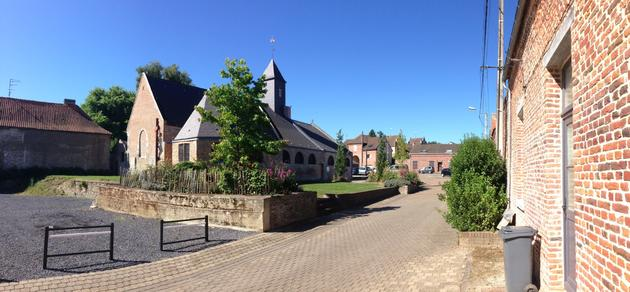 Eglise Quiévrechain St Martin rénovée