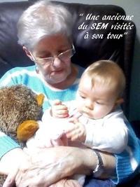 smb SEM Sandrine et une malade