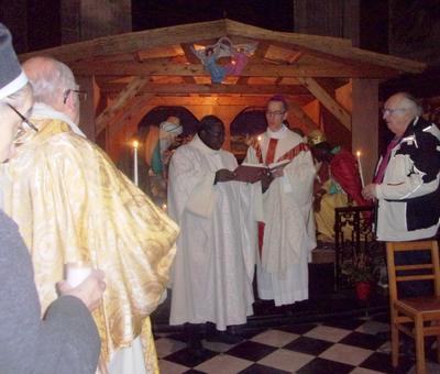 bénédiction des cierges
