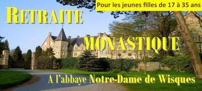 vie monastique abbaye de Wisques