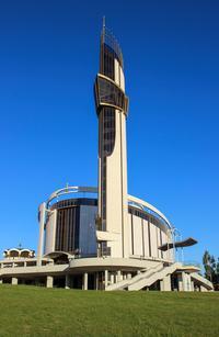 Sanctuaire de la Misericorde Divine a Cracovie, co