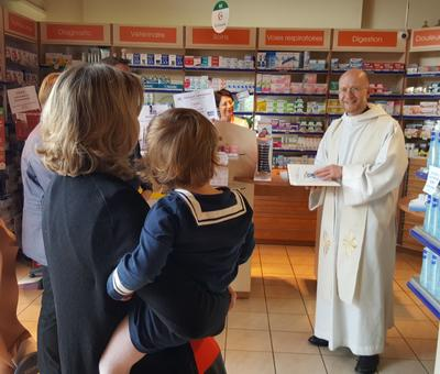 Benediction de la pharmacie de Proville
