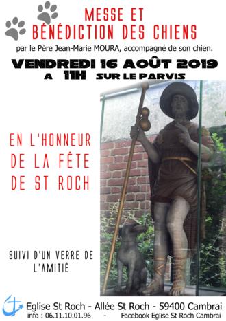 affiche St Roch 16 aout 2019