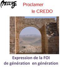 Mess'aje CREDO (detail)