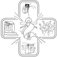 Croix pascale (basse déf)