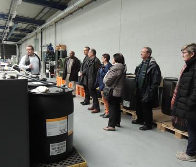 visite de l'imprimerie digitaprint