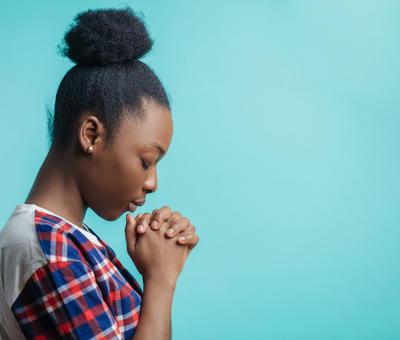 prière jeune fille