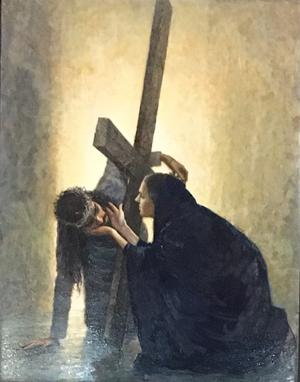 2020-02-25  chemin de croix de lreglise St Nizier