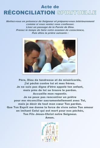acte de reconciliation spirituelle