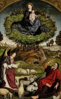 Nicolas Froment buisson ardent 1477