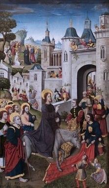Entree de Jesus a Jerusalem