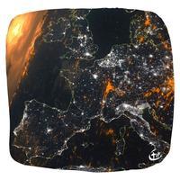 France vue satellite