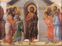 Maesta de Sienne, Duccio di Buoninsegna (c.1255-c.