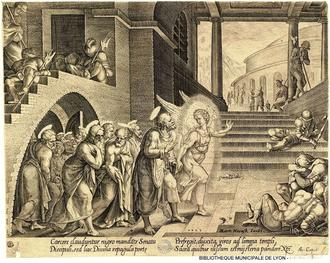 liberation des apotres. M. Van Heemsckerk