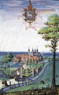 abbaye d'Anchin fondee aupres de l'ermitage de sai