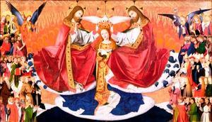 couronnement Vierge E. Quarton