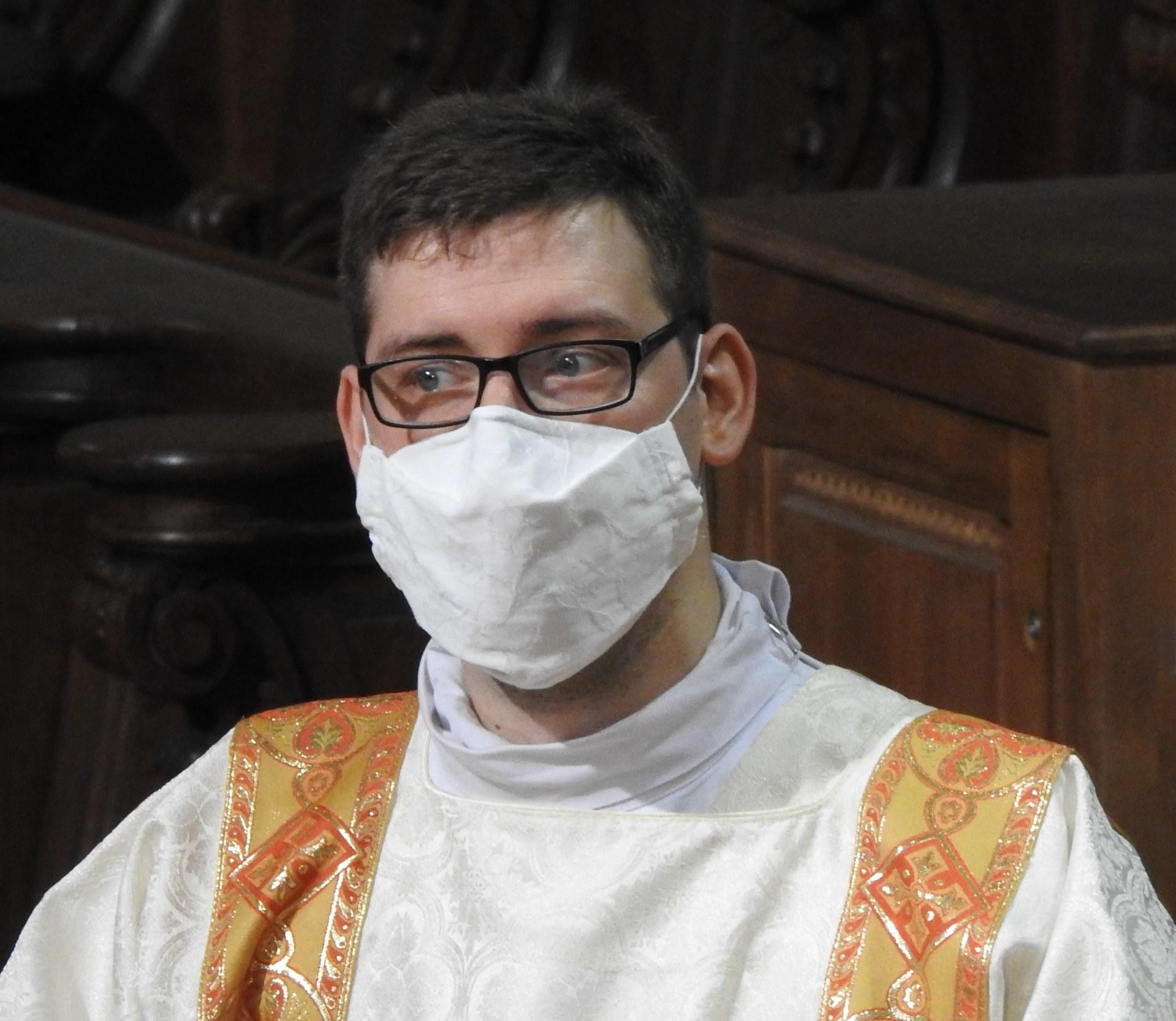 Maxence, séminariste, ordonné prêtre le 21 juin prochain